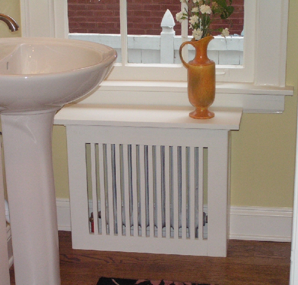 woodworking radiator cover